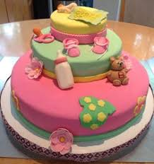 red velvet baby shower cake three tiered baby shower cake