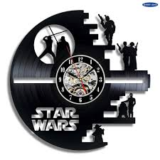 Star Wars Home Decorations by Online Get Cheap Star Wars Clock Wall Aliexpress Com Alibaba Group