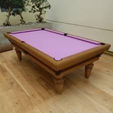 Smart Pool Table 8 U0027 American Modern Pool Table Oak Colour 8 Simonis Powder Blue