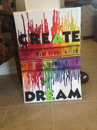 25 unique melted crayon canvas ideas on pinterest melted crayon