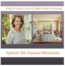 million dollar decorating suzanne interviewed by james swan for million dollar decorating