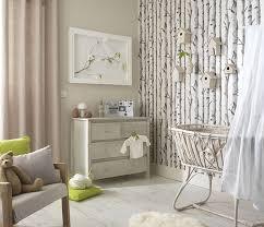 décoration chambre de bébé illusion parfaite d un coin bucolique dans la chambre avec ce papier