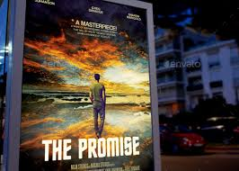 the promise movie poster template inspiks market
