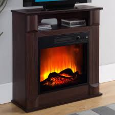 prokonian electric fireplace with 26 mantle b0213 cherry