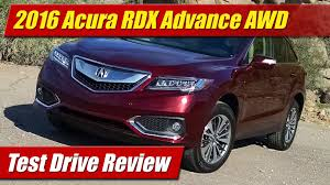 lexus nx review ttac 2016 acura rdx advance awd youtube