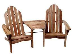 outdoor chair with table attached adirondack chairs with attached table incredible cedar creek