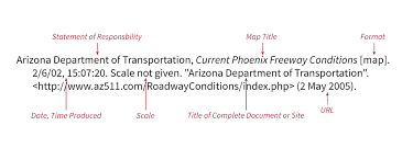 Phoenix Freeway Map by Home Citing Maps Libguides At Ohio Wesleyan University Libraries