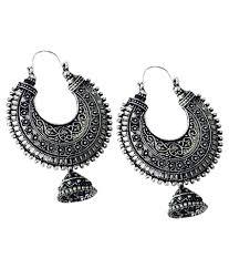 metal earings bling bling black metal dangler earrings buy bling bling black