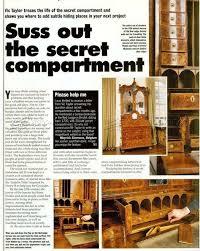 Woodworking Projects With Secret Compartments - mer enn 25 bra ideer om secret compartment furniture på pinterest