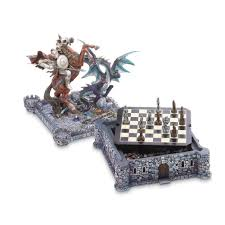 amazon com verdugo gift dragon u0026 knight chess set toys u0026 games