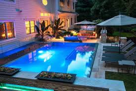 Swimming Pool In Small Backyard by Inground Pool Designs