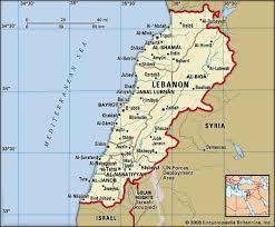 lebanon on the map lebanon language religion history britannica