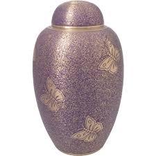cremation urns wholesale cremation urns butterflies purple