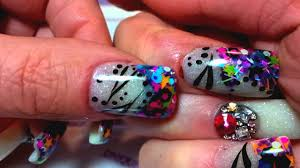 whats on my nails unique nail creations youtube