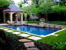 interior beauteous backyard landscaping ideas swimming pool