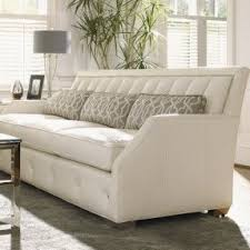 leather nailhead sectional foter