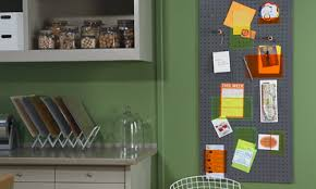 Magnetic Bulletin Board Video Creating A Magnetic Chalkboard And Bulletin Board Martha