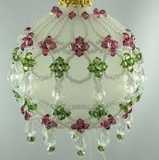 How To Make Christmas Ornaments Out Of Beads - 24 best christmas ornaments images on pinterest christmas ideas