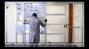Dimension Bloc Porte by Caisson En Kit Pour Porte à Galandage Youtube