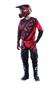 motocross gear set answer new 2016 mx alpha ansr dirt bike bmx mtb red black