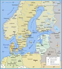 Map Od Map Of The Baltic Sea Region Nations Online Project