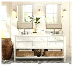 Beachy Bathroom Mirrors Distressed Bathroom Mirror Pottery Barn Mirrors Bathroom