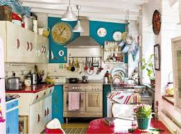 vintage kitchen decor retro vintage red and turquoise kitchen decor interiors by color