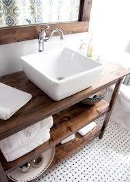 Open Shelf Bathroom Vanity Beautiful Open Shelf Bathroom Vanity 34 Rustic Bathroom Vanities