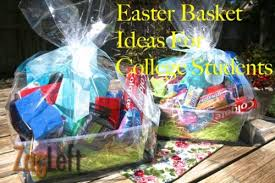 ideas for easter baskets easter basket ideas for college students