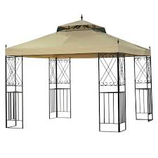 home depot patio gazebo 12 ft x 10 ft belcourt gazebo l gz472pst c a the home depot