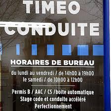 bureau des permis de conduire horaires auto ecole timeo conduite home