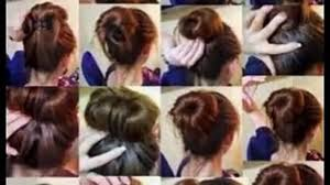 easy bun hairstyles for long hair video dailymotion