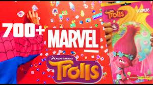 700 trolls marvel stickers funny wall stickers spiderman twin 700 trolls marvel stickers funny wall stickers spiderman twin