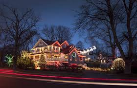 photos of the week dazzling christmas lights a santa baby and