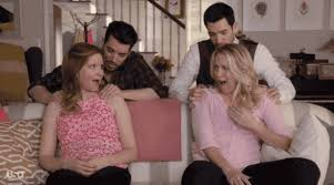 property brothers houses playing house stars lennon parham jessica st clair pick which