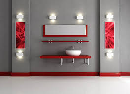 Gray And Red Bedroom by Gray And Red Bathroom U2013 Decoration