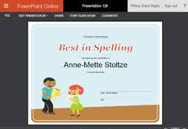 how to create printable award certificates in powerpoint