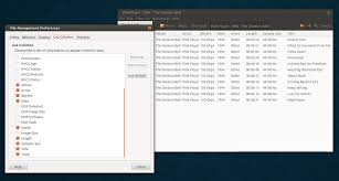File Manager Title Add Pdf Audio And Exif Metadata To Nautilus 3 4 To 3 10 List