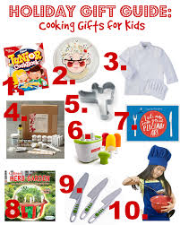 cooking gifts holiday gift guide cooking gifts for kids kitchen concoctions