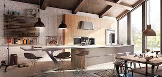 vernis cuisine cuisine équipée en bois plan de travail dekton inova cuisine