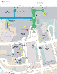 Boston Medical Center Map by Massachusetts General Hospital Cancer Center Campus And Building