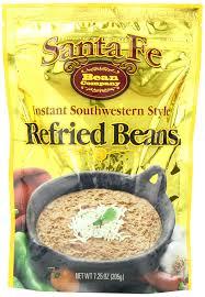 Southwestern Style Amazon Com Santa Fe Bean Co Instant Southwestern Style Refried