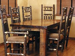tables u0026 chairs colorado log furniture