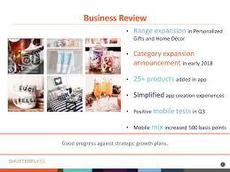 shutterfly home decor shutterfly inc 2017 q3 results earnings call slides