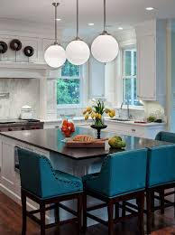 bar chairs for kitchen island gray kitchen island with turquoise blue counter stools for remodel