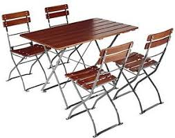 Beer Garden Tables by Outdoor Bistro Set Beer Garden Tables Chairs Folding European Quality