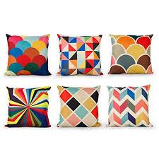 taie d oreiller pour canapé 45 7 x 45 7 cm impression géométrique simple en coton et taie d