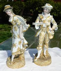 Home Interior Porcelain Figurines French Bisque Porcelain Portselanist Figuurid Porcelain