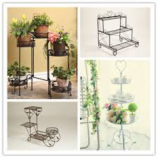 dipamkar foldable 5 tier metal plant stand display shelf home