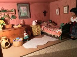 american josefina u0027s bedroom by t deisher u2026 dollhouse